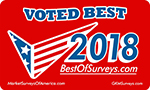 Voted Best of Survey 2018